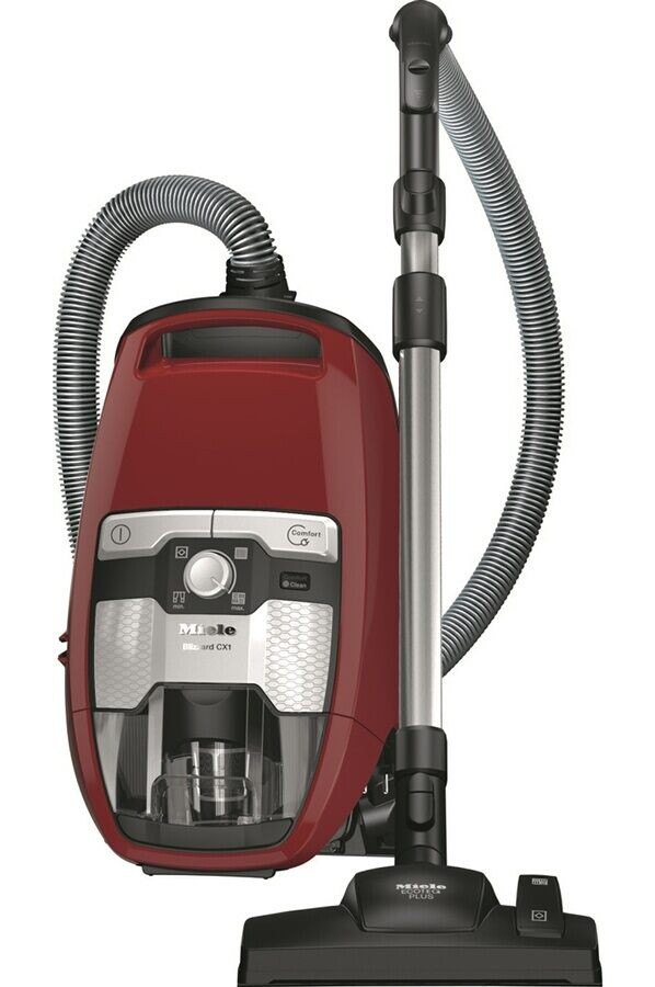 MIELE ASPI S/SAC FILTRATION 99.9%  73DB RAYON D ACTION 11M ROUGE
