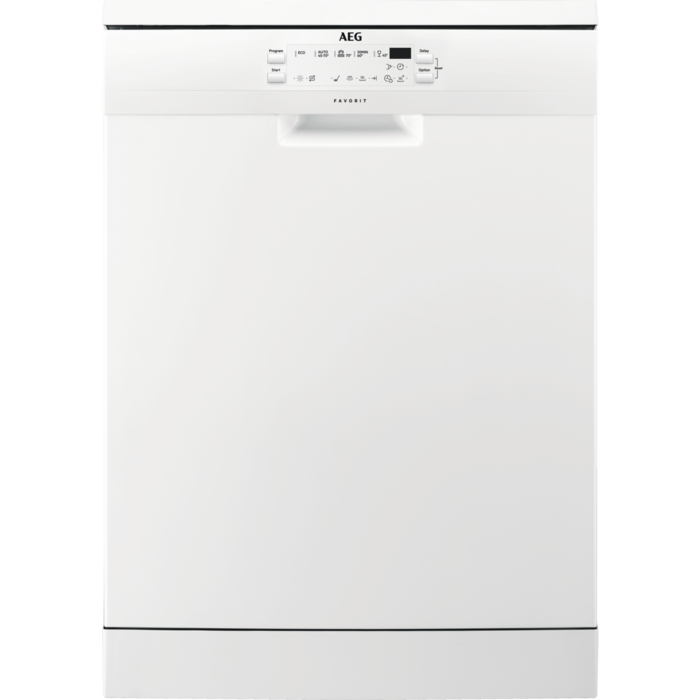 AEG LAVE-VAISSELLE BLANC - 13 COUVERTS - 42DB - A+++AA - 4T° - 5 PGS