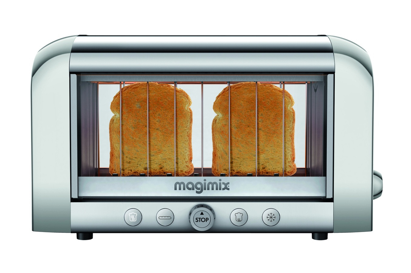 MAGIMIX GRILLE PAIN TOAST.VISION.4TR.XL.1450W.BRILL.
