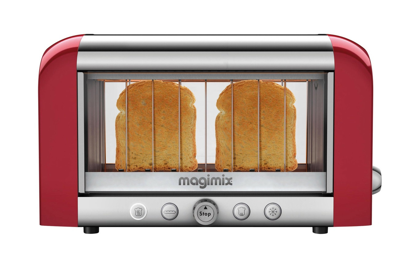 MAGIMIX TOAST.VISION.4TR.XL.1450W.ROUGE.